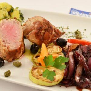 Tuna biftek porcija